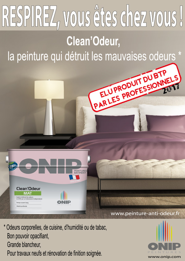 les chambres d enfants assainis gr ce aux peintures onip clean r et clean odeur laborier peintures. Black Bedroom Furniture Sets. Home Design Ideas